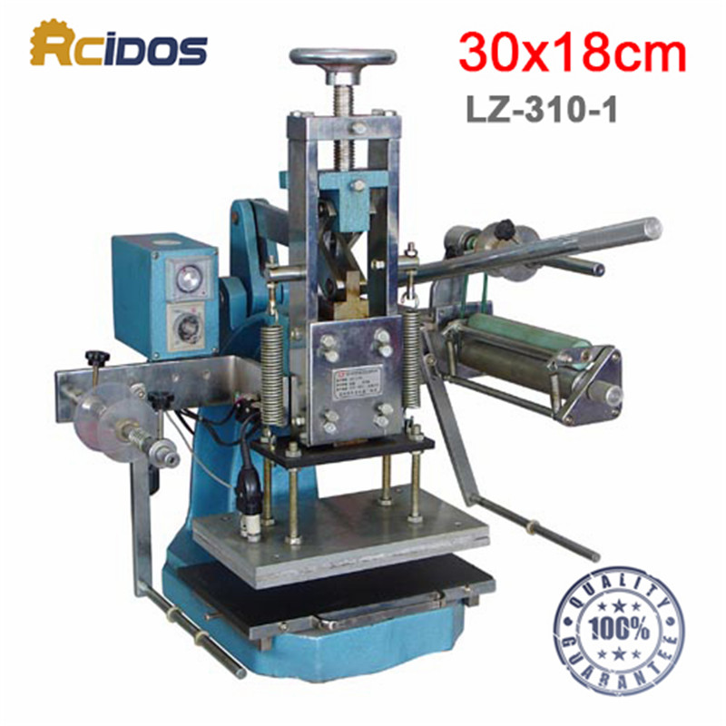 LZ 310 1 Heave duty hot foil stamping machine,RCIDOS Creasing machine,marking press,embossing machine(30x18cm)