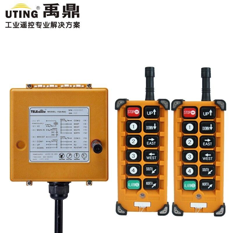 Telecontrol F23 A++ remote control universal industrial wireless control for crane AC/DC 2transmitter and 1receiver|controle universal|remote control universal|remote control - title=