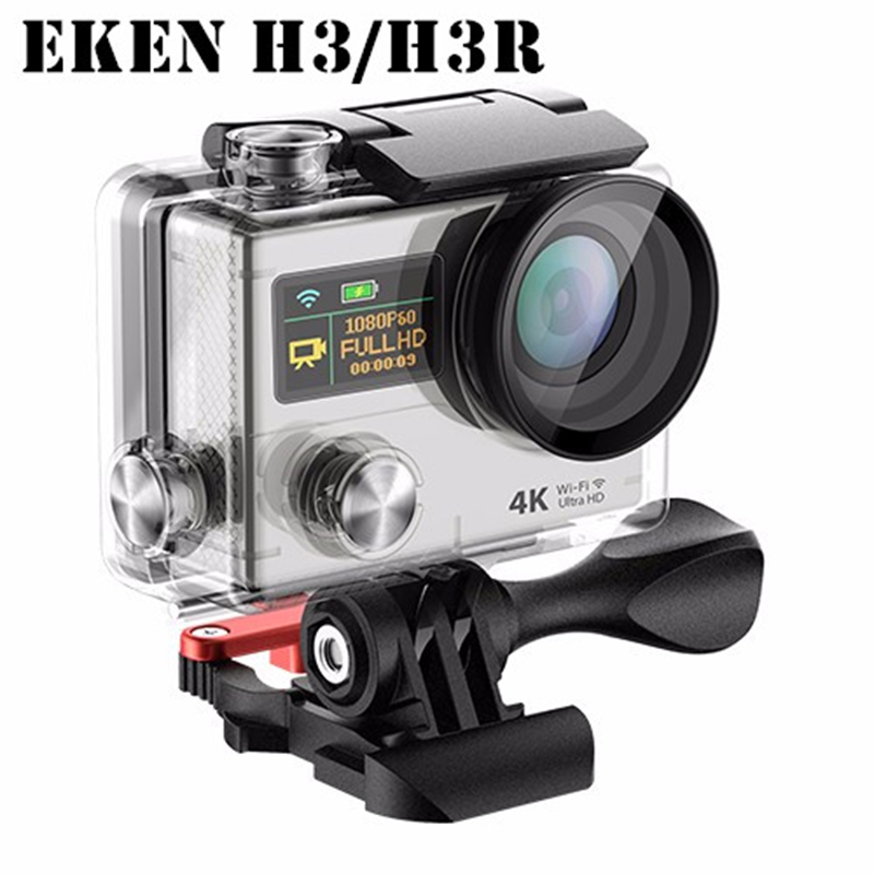 Original EKEN H3/H3R Action Camera Wifi Ultra HD 170D Go Waterproof Mini Cam Pro Double Screen Sport Camera gopro hero 4 style add camera bag and two battery sport action camera 1080p hd 12mp sj4000 wifi extre sports camara gopro hero 3 go pro 4 cam style