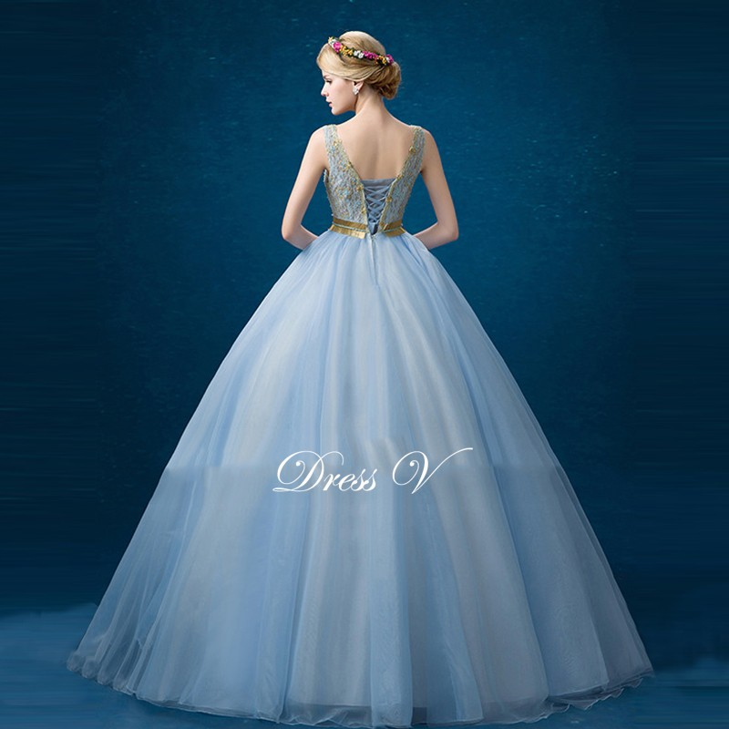 Sky Blue Quince Dress