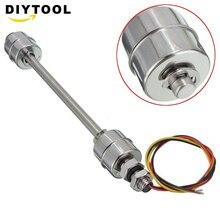 цена на white 220V 200mm Stainless Steel Liquid Water Level Sensor Internal Float Switch