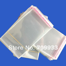 10000pcs/lot,9*13cm Jewelry & Craft Packaging Bags Clear Self Adhesive Seal Plastic Opp ,DHL shipping