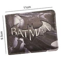 Batman Logo Printed Short Wallet