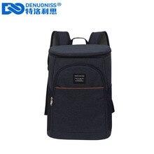 DENUONISS 20L терморюкзак водонепроницаемый утолщенная сумка-холодильник большая изолированная сумка на плечо рюкзак-холодильник для пикника