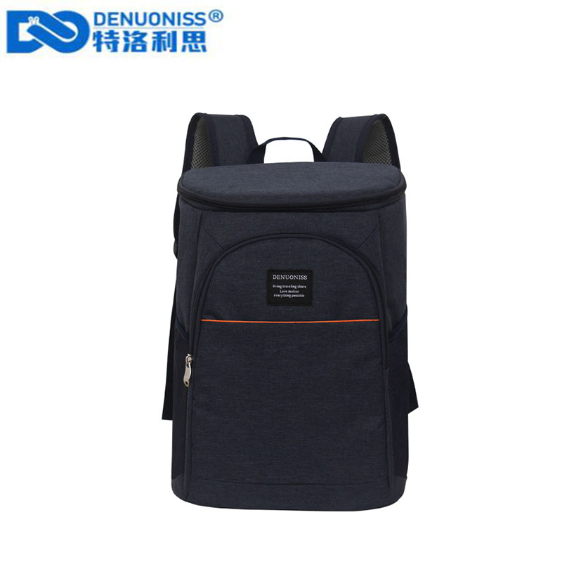 DENUONISS 20L Thermal Backpack Waterproof Thickened Cooler Bag Large Insulated Bag Shoulder Picnic Cooler Backpack image
