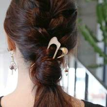 Korean Style Cute Women Girl Flash Rhinestone Hairgrip Simple Elegant Hair Pins Accessories Side Clip