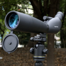Big sale Spotting Scope 20-60×70 Zoom  Monocular Outdoor Telescope With table Tripod Monoculares Professional Bird Animal Telescope