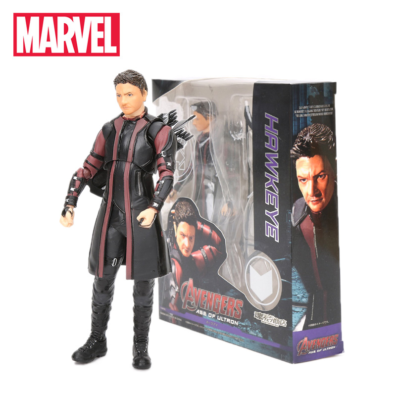 New 15cm Marvel Toys Avengers 3 Infinity War Hawkeye Barton KO Figurine PVC Action Figures Collectiable Model Dolls Toy(China)