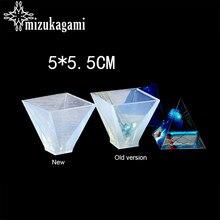 Moule en résine UV pour bijoux, 1 pièces, liquide, en forme de pyramide, pour la fabrication de moules, accessoires