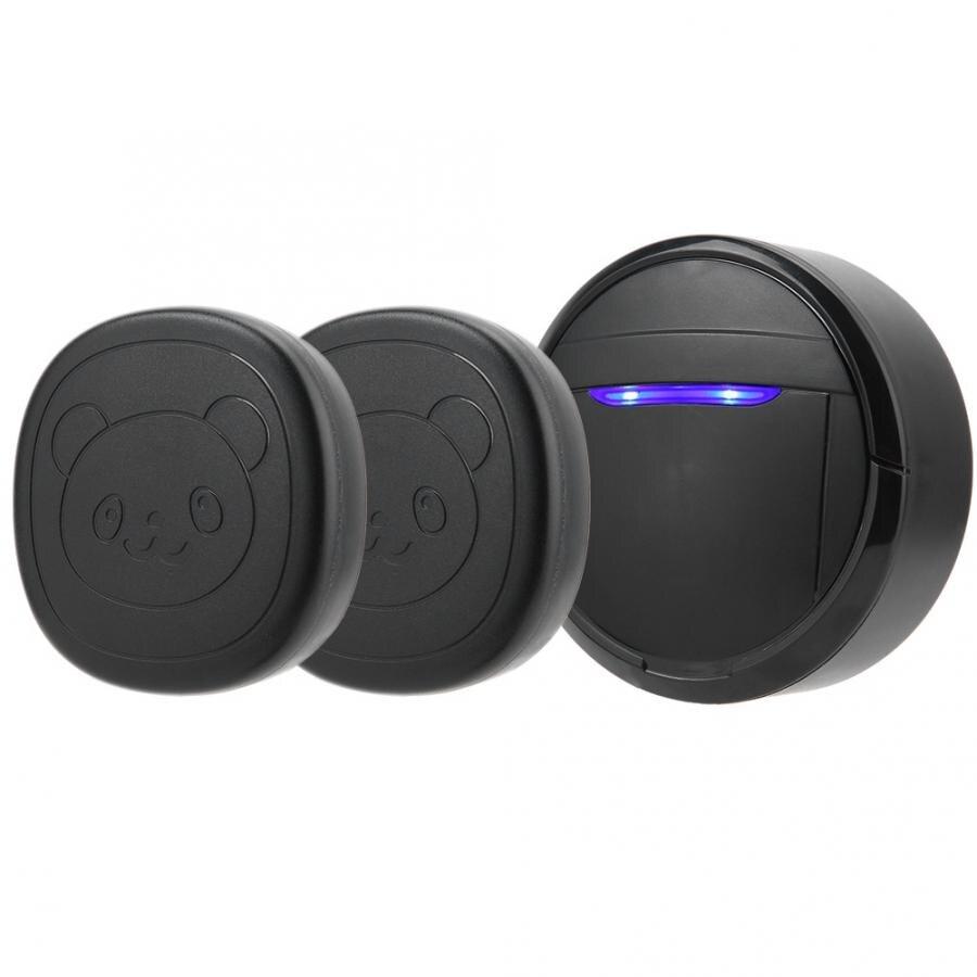 Wireless Waterproof Touch Button Alarm Pet Dog Training Door Bell Emergency SOS Caller Smart Doorbell 0-110dB 5 Level Adjustable-4