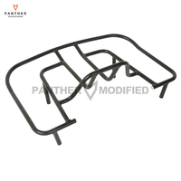 Black Motorcycle Tourbox Rear Luggage Rack Case For Honda GL1800 Gold Wing Models 1800 2001 2013