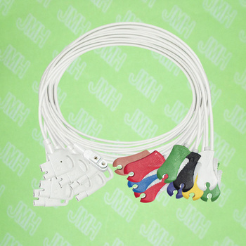 Compatible with HP M1700A EKG/ECG 10 lead the clip leadwires set,IEC or AHA.