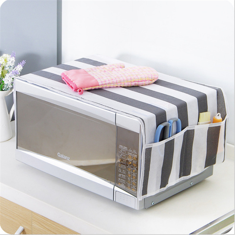 1pcs Simple Microwave Dust Cover Microwave Oven Covers