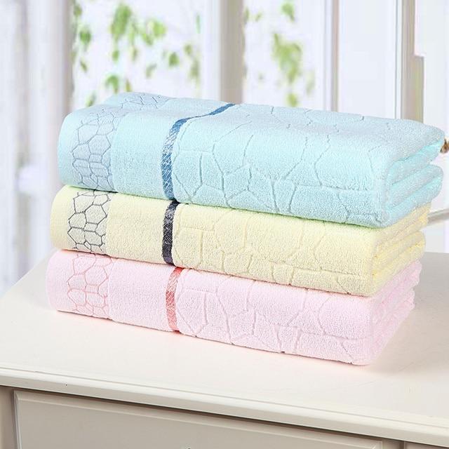 Free Shipping Hot 55 X27 140x70cm Bath Towel Cotton 3 Colors 100 Fiber Natural Eco Friendly