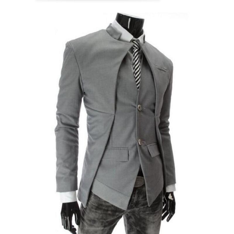 Mode Designer mode hommes costume veste angleterre Style Slim Fit Blazer manteaux smoking hommes d'affaires costumes personnalisés
