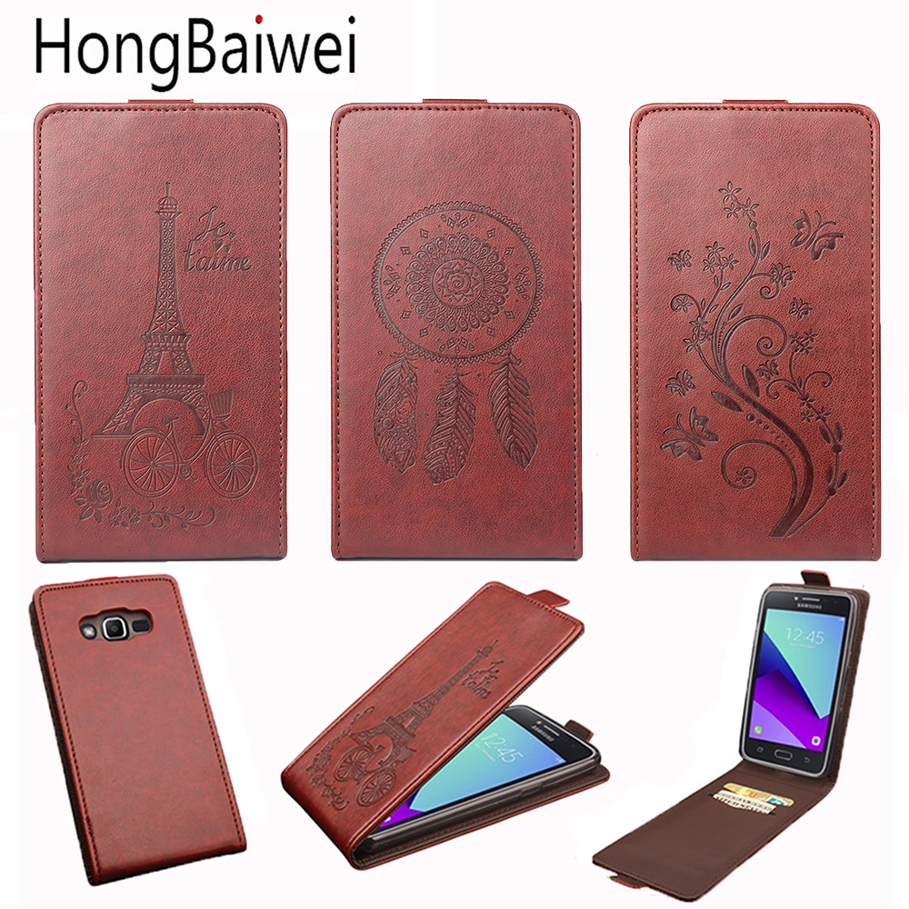 <font><b>Flip</b></font> PU Leather Wallet Cover <font><b>Case</b></font> For <font><b>Samsung</b></font> <font><b>Galaxy</b></font> J2 Pro 2018 A3 <font><b>A5</b></font> J1 J2 J3 J5 J7 2016 2017 A320 <font><b>A520</b></font> S7 S8 Grand Prime <font><b>Case</b></font> image