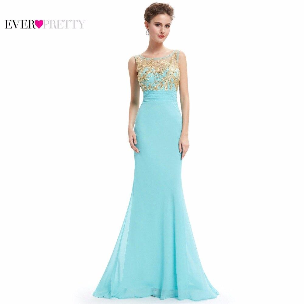 Lujo prom dress sheer cuello apliques de encaje de oro siempre pretty ep08738 20