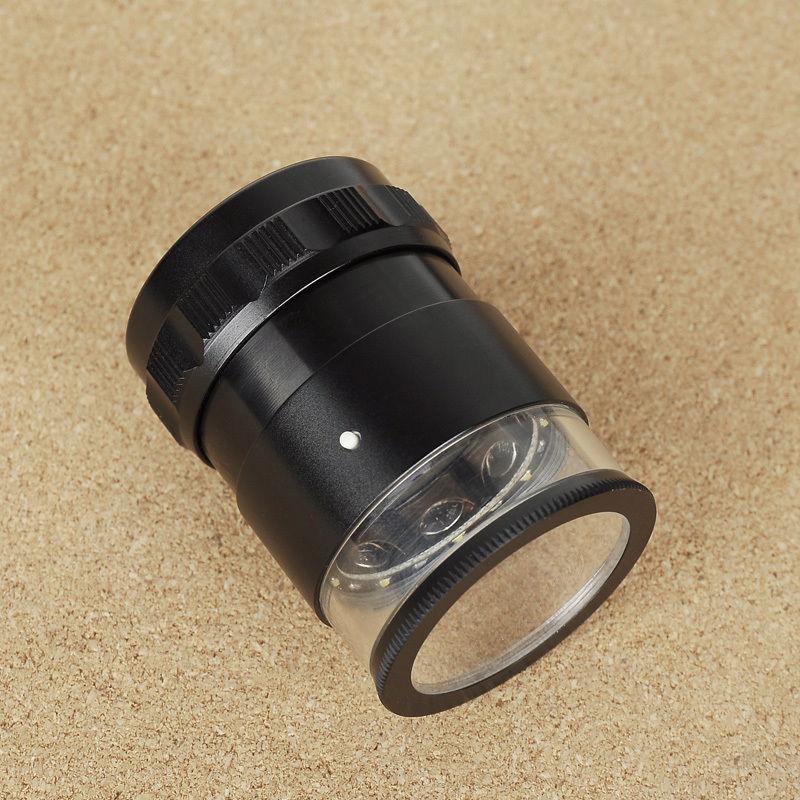 Új 8 LED-es világító optikai nagyítólencse, ABS üveg, 10X-es - Mérőműszerek - Fénykép 5