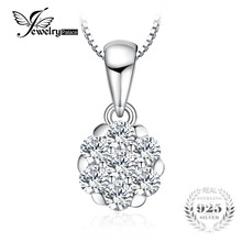 Frame 0.4ct Pendant Genuine 925 Sterling Silver Jewelry Pendant Without a Chain