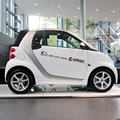 OPEN your mind  design brand car stickers and decals for  SMART FORTWO,die cut vinyl styling accessories cover