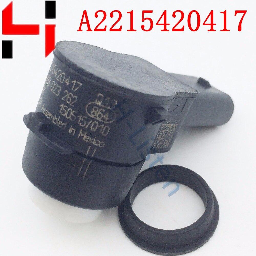imágenes para (10 unids) Control De Distancia de aparcamiento Sensores de Ayuda Para ML320 ML350 GL350 GL320 C320 SL500 E R S Clase A2215420417 2215420417