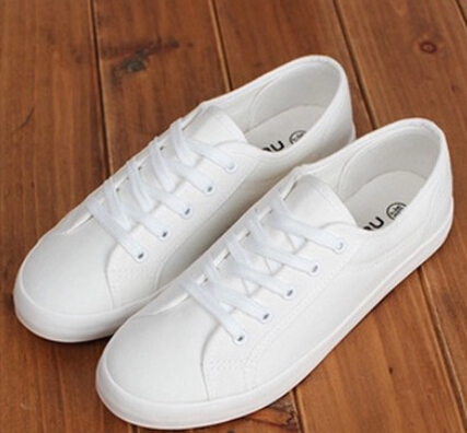cheap plain white keds