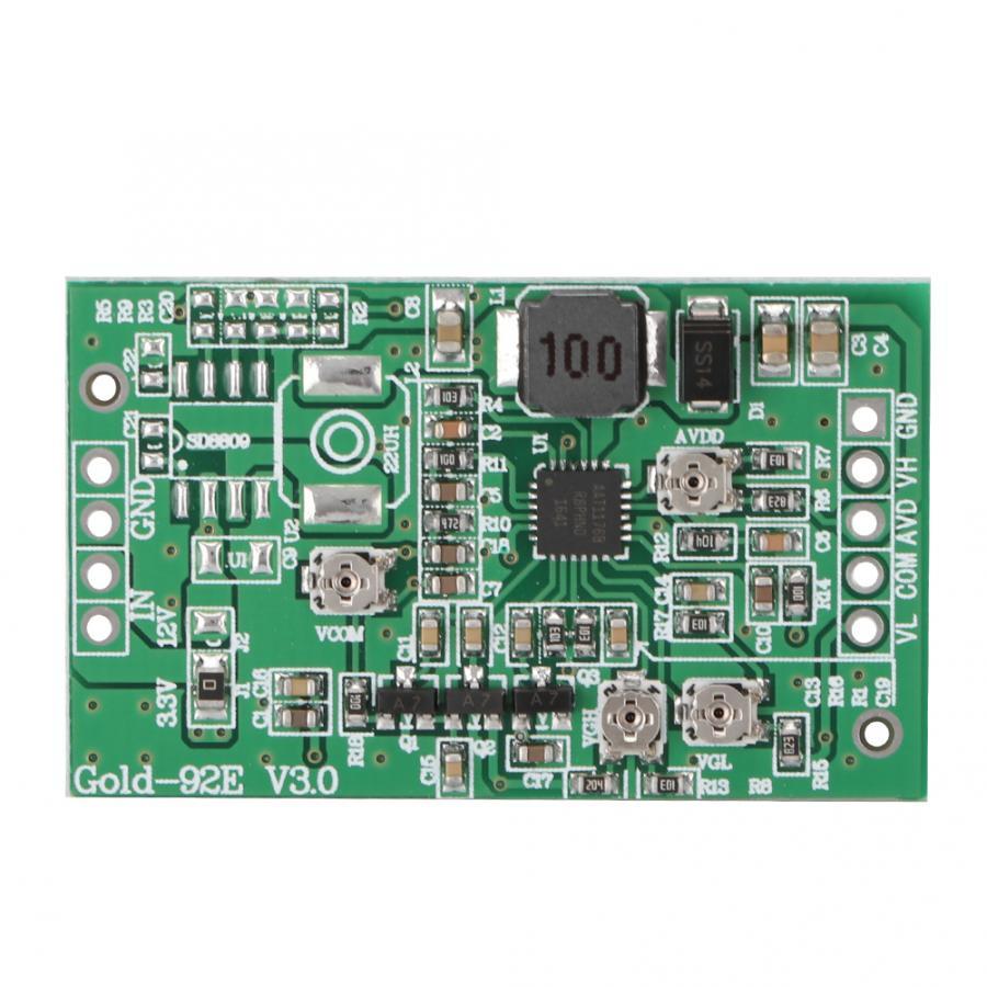 Boost Board Module LCD TCON Board VGL VGH VCOM AVDD 4 Adjustable Gold-92E