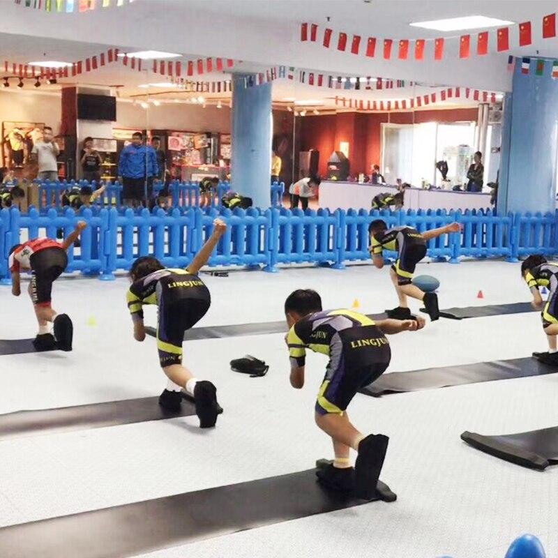 Professionnel rouleau de patinage formation soutiens Adultes Inline Vitesse patins formation glisser conseil exercice D'équilibre planche à roulettes Pied pad - 3
