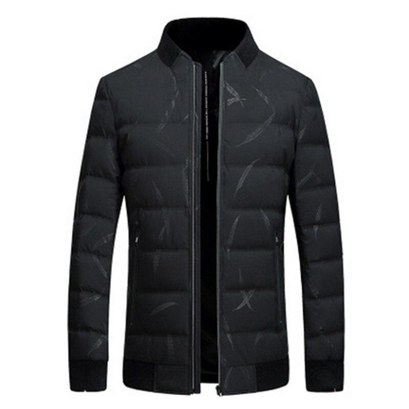 Мужская теплая Повседневная хлопковая куртка с воротником, верхняя одежда, зима 2019