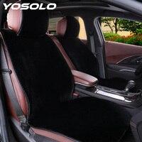 Yosolo tampas de assento de automóveis mais quente almofada de assento de carro inverno fornecimento de carro-estilo acessórios interiores