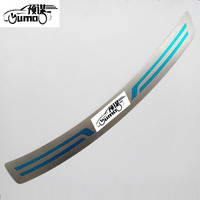 Free Shipping For Mazda6 Sedan 2013 2016 RearGuards Car Styling Rear Bumper Protector Auto Accessories 1pcs