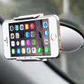 360 Degree Rotating Cell Phone Clip Mobile Car Mount Support Winshield Navigator Holder Stand For GPS iPhone Samsung Universal