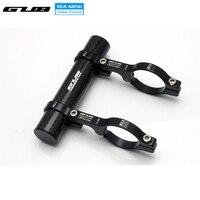 GUB Double Mountain Bike Handlebar Extender Expander Bicycle Speedometer Mount Headlight Flashlight Carbon Tube Lamp Holder