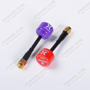Image 3 - 2PCS 59MM Foxeer Lollipop 3 /5.8G RHCP FPV Antenna 2.5Dbi SMA/RP SMA /mini Antenna 7.3g for FPV Freestyle Frame Racing