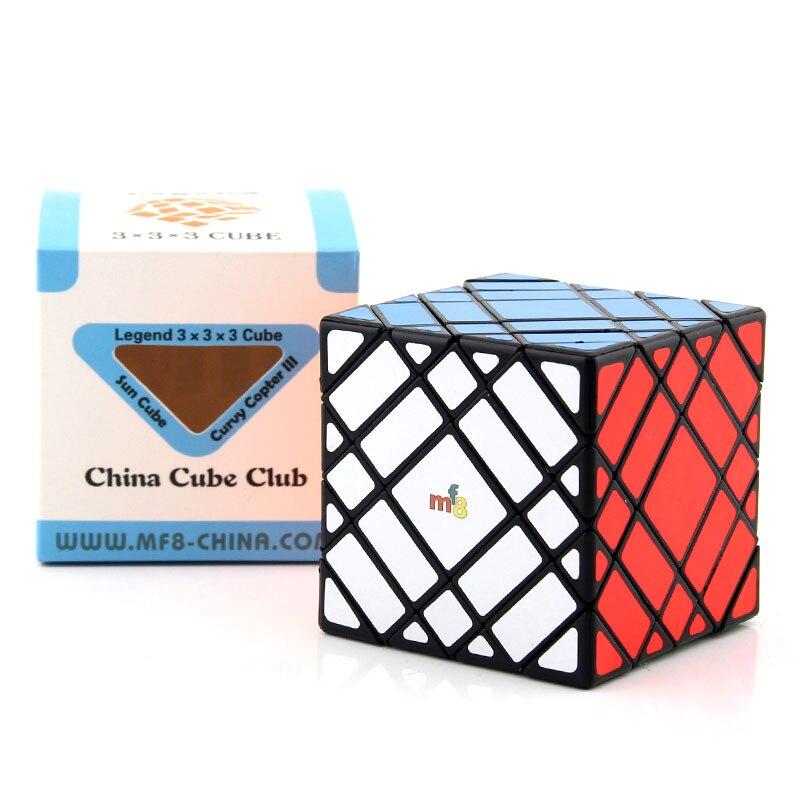 Puzzle cube magique Mf8 Vrai 4 Couche Skew 7x7 Étrange Forme Spécial Haute Niveau Twist Sagesse jouet jeu éducatif Cadeau