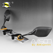 For Yamaha XMAX X-MAX 250 300 Mirror Bracket  Motorcycle Modified Front  Rear Side View Mirrors Adapter Fixed CNC