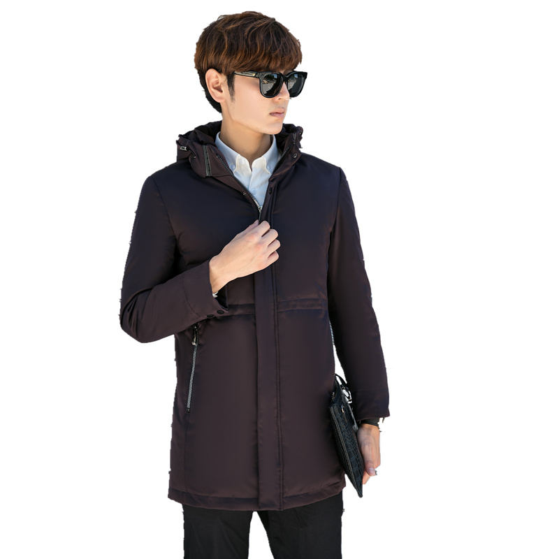 2017 New Arrival Parka Brand Clothing Winter Men Cotton Winter Warm Regular Formal Jackets And Coats Down jacket Thicker Hooded