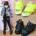 Koovan Children Sneakers 2017 Spring Fashion Kids Children's Shoes Baby Boys And Girls Sneakers Sports Shoes Black Wings Mesh