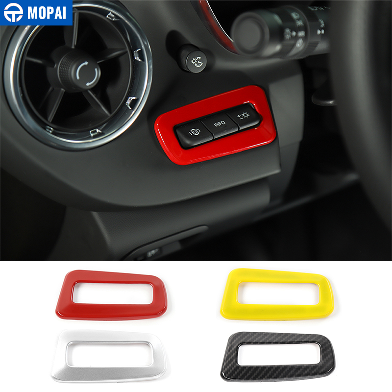 MOPAI Car Head Up Display Control Switch Button Decoration