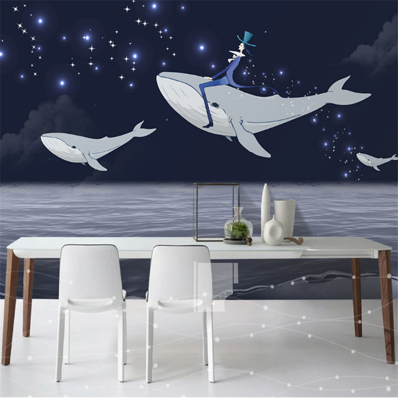 custom modern 3d photo non-woven murals wallpaper 3d hand-painted Nordic simple cartoon background wall home decor for kitchen custom 3d mural wallpaper street art graffiti cartoon hand painted brick wall background decor wall painting non woven wallpaper
