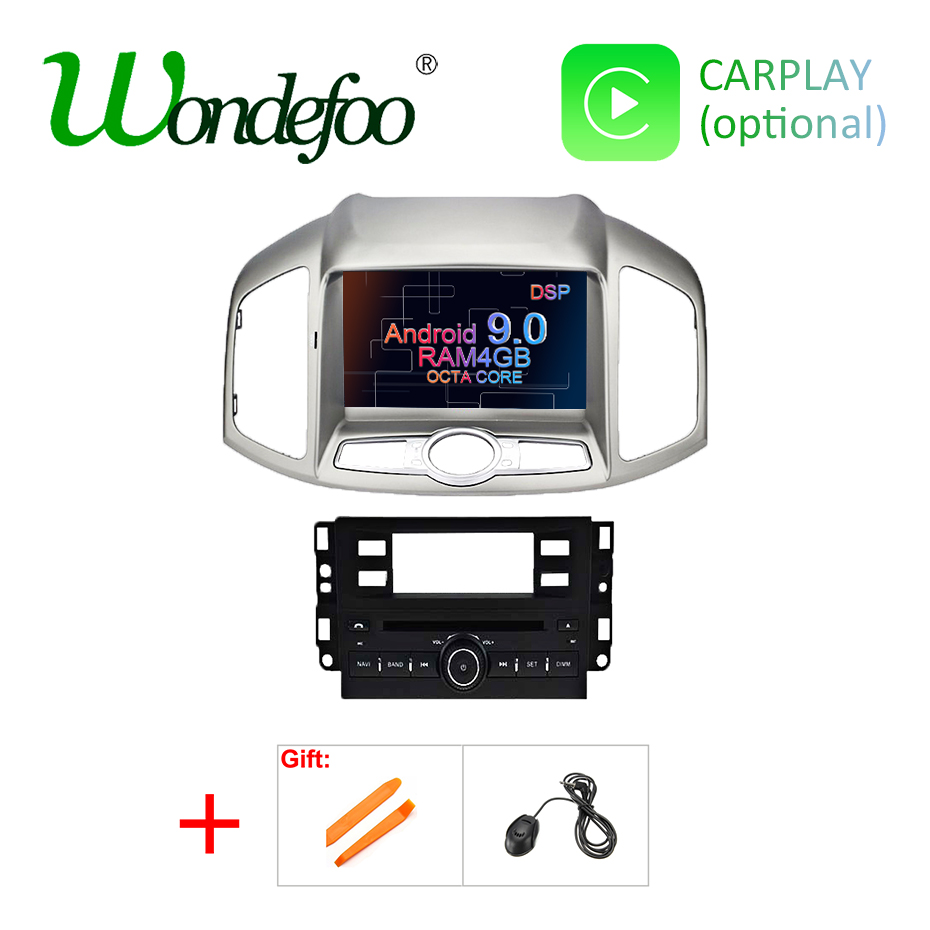 Android 9 0 DSP AV Output Car GPS Radio for Chevrolet Captiva Epica 2012 2015 Multimedia