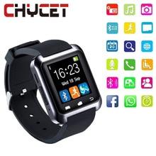 Дешевые SmartWatch Bluetooth Smart часы U80 для iPhone IOS Android смартфон Носите часы Носимых устройств умные часы PK U8 GT08 DZ09