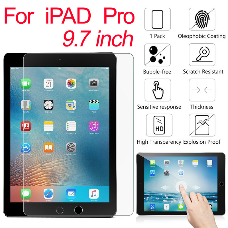 9H 2.5D Tempered Glass Screen Protector For iPod touch 4 5 6 For iPad 2 3 4 mini 1 2 3 4 pro9.7 pro 10.5 air 1 2 Protective Film(China)