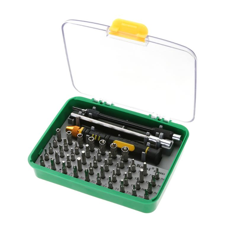 51 in 1 Toolkit Screwdriver Set for Mobile Phone Tablet Home Appliances Opening Repair Tool Tweezers Screwdriver Bits цена
