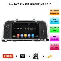 8 Inch Car DVD For Kia Optima K5 2015 Quad Core 1024 600 Android 5 1