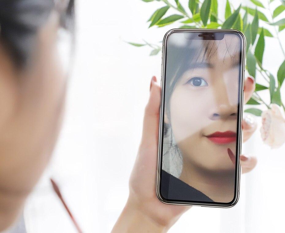 iPhone-X&Xs&XR&Xs-Max-魔镜全屏美妆钢化膜(A15)-_11