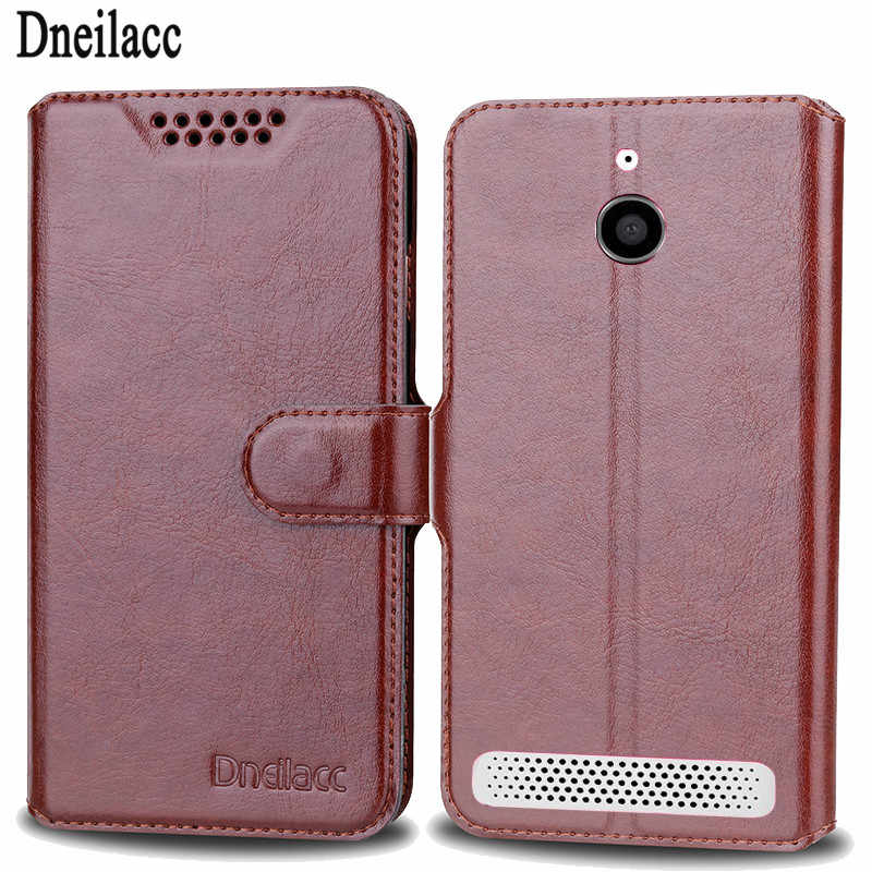 Dneilacc Wallet Leather Case For Sony Xperia E1 Magnetic Coque Cover For Sony Xperia E1 Phone Cases