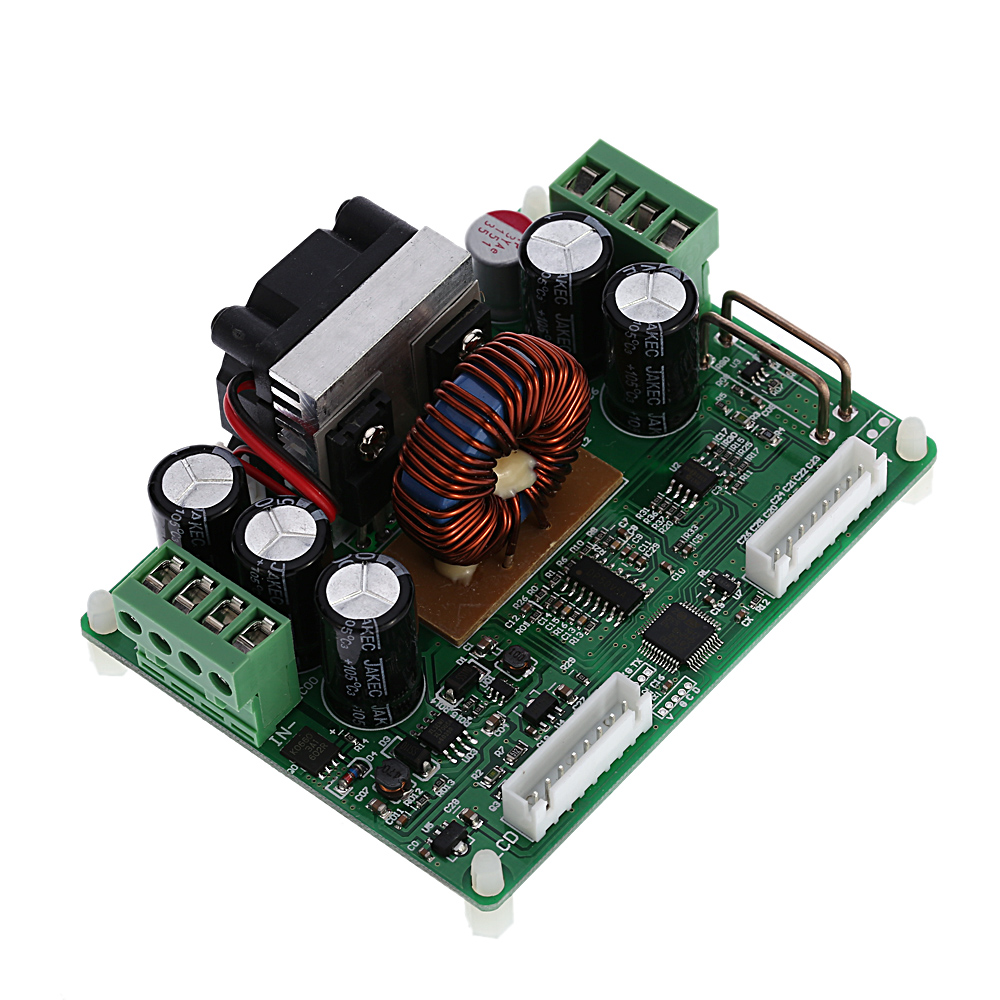 LCD Digital Step-down Power Supply Module Programmable Constant Voltage Current Power Module  DC 0-32.00V/0-12.00A maitech dc dc step down constant voltage constant current module yellow