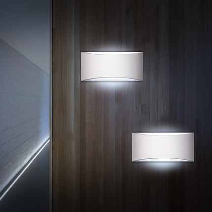 Simple Modern LED Wall Light Fixtures For Home Gypsum Wall Sconce Bedside Wall Lamp Indoor Lighting Lampara Pared