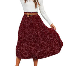 2205054cb Skirt Pleated Dotted Maxi - Compra lotes baratos de Skirt Pleated ...